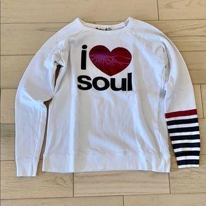 SoulCycle Free City Crewneck Sweatshirt Size XS
